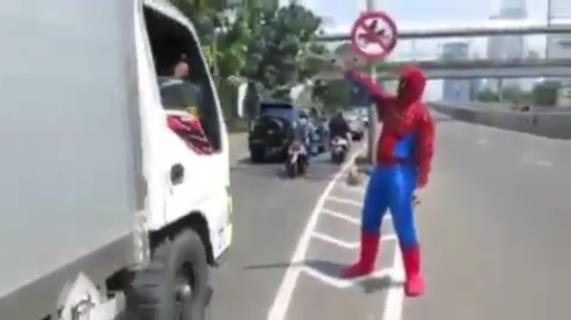 spiderman jakarta 1